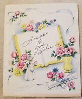 Vintage Graduation Greeting Card Graduate 1946