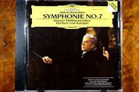 Bruckner: Symphonie Nr. 7 - Wiener/ Karajan (1990) CD Germany, VG - 4292262