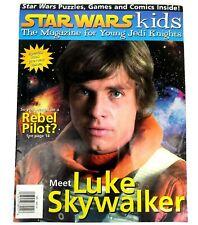 Star Wars Kids Magazine Meet Luke Skywalker 1998 Preview Issue Games Comics +