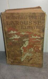Ancien Dictionnaire Petit Larousse Illustré 1930