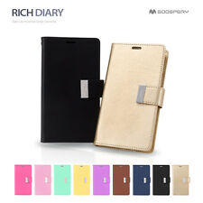 iPhone 5/5S/5C Case Goospery Mercury Rich Dairy Card Flip Leather Wallet Cover