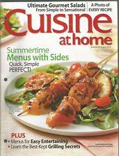 Cuisine At Home August 2010 Summer Menus/Grilling Secrets/Entertaining
