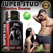 SUPER STUD Booster Male Erectile Enhancement Bigger Harder Penis Herbal 60 Pills