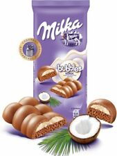 "Russian ""Milka"" Bubbles milk porous chocolate with coconut filling 97g (3.42 oz)"