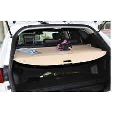 For Hyundai Santa Fe Rear Trunk Cargo Cover Beige Security Shield Screen Shade