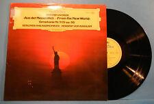 HERBERT VON KARAJAN BERLIN PHIL DVORAK NEW WORLD SYMPH Nr. 9 LP ITALY VG++!!A