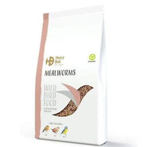 Mealworm Bird Food / Wild Bird Seed - Mealworm Bird Seed - 100g, 500g, 1kg Bag