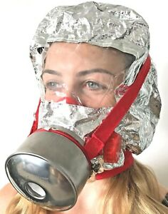 60 mins. Fire Escape. Survive Fire. Escape Fire. Smoke Mask / Hood.
