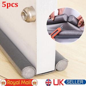 5x Waterproof Seal Strip Draught Excluder Stopper Door Bottom Guard Double New