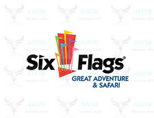 up$166 OFF SIX FLAGS Great Adventure Ticket Parking Season Pass DISCOUNT PROMO