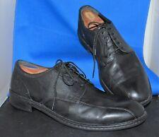 Born -Men'S - Buffet Bicycle Toe Black Leather Oxford Shoes Sz 12