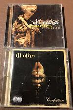 Ill Nino cd bundle x 2 Lot - Confession - Revolution Revolution