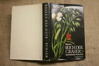 Buch der Gräser, Binsen, Gras, Bestimmungsbuch, Wiese, DDR 1953, Weymar