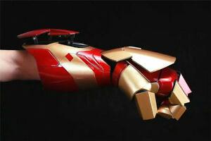 Iron Man MK42 Wearable Blaster Gauntlet MK42 Arm/Palm LED Armor Gloves 1:1 Prop