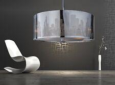 Decken Lampe New York | Ø 50cm | Designer Hänge Leuchte | Skyline | Lounge |