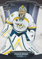 2015-16 Upper Deck Contours Hockey #15 Pekka Rinne Nashville Predators