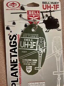 Bell UH-1 Huey Planetag / Plane Tag - Free Shipping