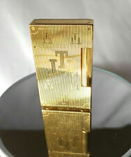 ST DUPONT TRINIDAD LTD EDITION GOLD PLATED LIGHTER