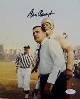 Ara Parseghian Autographed Notre Dame 8x10 White Shirt And Tie Photo- JSA Auth