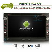 "7""Android 10.0 DVD Head Unit Radio DAB+GPS Sat Navi For VW Passat B5 Polo Golf Ⅳ"