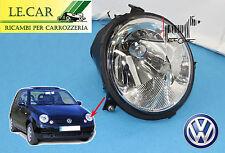 1 FARO PROIETTORE ELETTRICO / MANUALE H4 VOLKSWAGEN VW LUPO dal 9/1998 > 7/2005