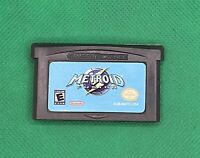 Metroid Fusion (Nintendo Game Boy Advance, 2002) *Read Description*