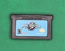 Metroid Fusion (Nintendo Game Boy Advance, 2002) *Read Description*
