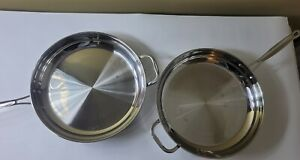 ONE Cuisinart 722-36H Chef's Classic Stainless 14-Inch Open Skillet with Helper