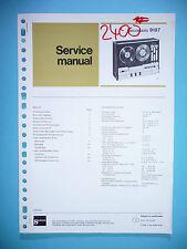 Manuel d'instructions service pour Philips Recorders 9197, original