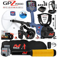Minelab GPZ 7000 Metal Detector with Pro Find 35, Carry Bag, Finds Pouch