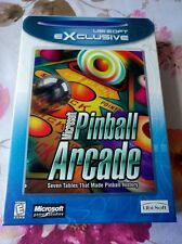Microsoft Pinball Arcade (PC, 1998) Brand New & Sealed