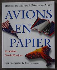 Avions en papier, record du monde à portée de main :16 m... - 2004