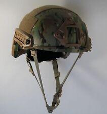 LVL IIIA Ballistic KEVLAR Helmet- Arma-Core XLG Multicam AOR MICH-fast shipping!