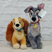 Official Disney Store Lady And The Tramp Soft Toy Medium Plush Teddy With Tag