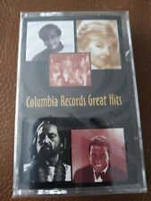 Rare NEW Columbia Records Great Hits - Various Pop Artists - Cassette Tape 1995