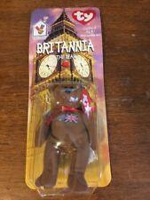 Ty Britannia the Bear Ronald McDonald Charities Retired Teenie Beanie