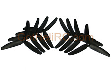 HQProp Tri Blades 5x4x3 Carbon Mix MultiRotor propeller (8PCS CW, CCW),FREE SHIP