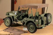 1/6 scale Willys Jeep *New Version* vehicle car truck U.S Army FULL METAL WWII