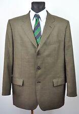 CHRISTIAN BERG Textured Blazer UK 46 Wool Jacket Suit top Eur 56 Gr Sakko Herren