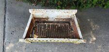 Antique Cast Iron Fire Place Grate insert wood coal basket