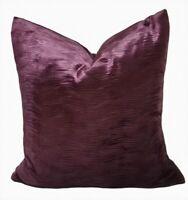 "Harlequin Fabric Akorna Velvets Damson 18"" x 18"" Cushion Cover"