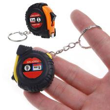 Retractable Ruler Tape Measure Key Chain Mini Pocket Size Metric 1m/3.28ft JT