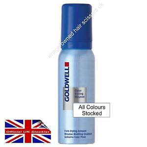 Goldwell MOUSSE Hair Colour Styling MOUSSE 75ml COLORANCE All Colours Stocked