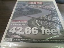 THE CITIZENS VOICE - 9/10/11  - 42.66 FEET (WEST PITTSTON FLOOD) - COMPLETE
