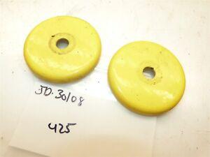 John Deere 445 425 Tractor Front Wheel Dust Caps