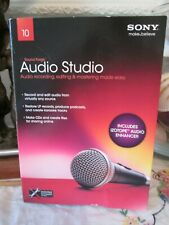 New in Retail Box Sony Sound Forge 10 Audio Studio