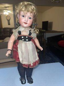 "20""vintage Morimura Brothers Japan Nippon Doll"