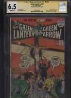 Green Lantern #89 CGC 6.5 SS Neal Adams 1972