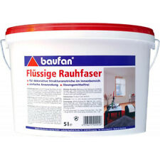 Baufan Flüssige Rauhfaser Struktur-Farbe 5 L (3,70?/1l)