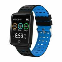 Bluetooth Smart Watch Heart Rate Oxygen Blood Pressure Sport Tracker Fitnes O8V8